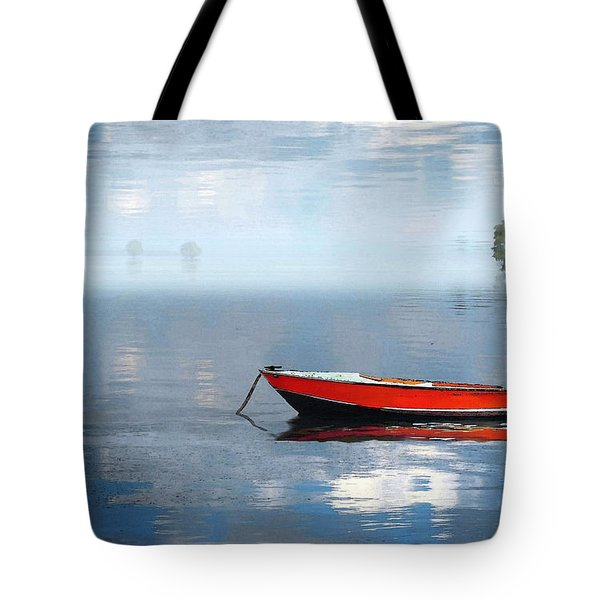 Santee Lakes Serenity Tote Bag by Deborah Smith