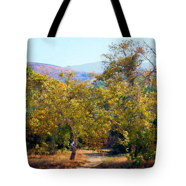 Santiago Creek Trail Tote Bag
