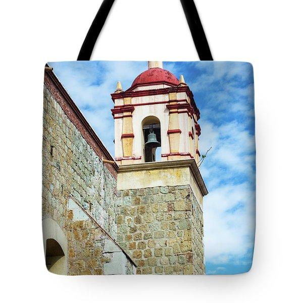 Santo Domingo Church Spire Tote Bag
