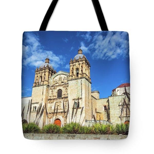 Santo Domingo Church View Tote Bag