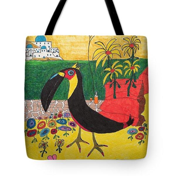 Santorini-esque Tote Bag