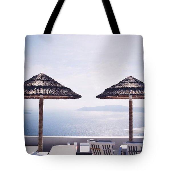 Santorini Spell Tote Bag