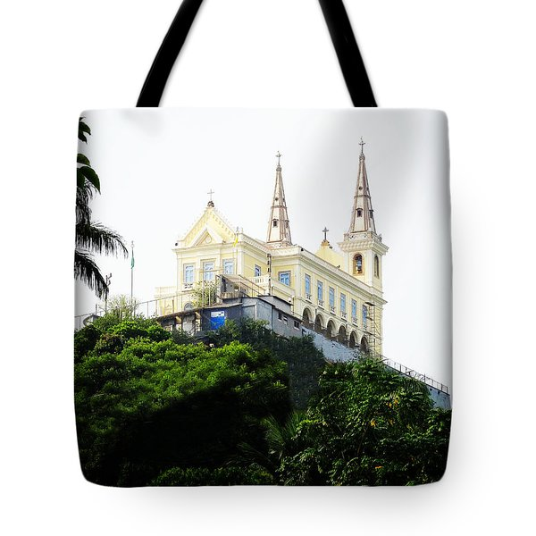 Santuario Da Penha Tote Bag