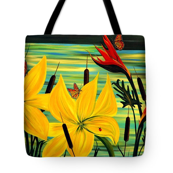 Santuary Tote Bag by Adele Moscaritolo