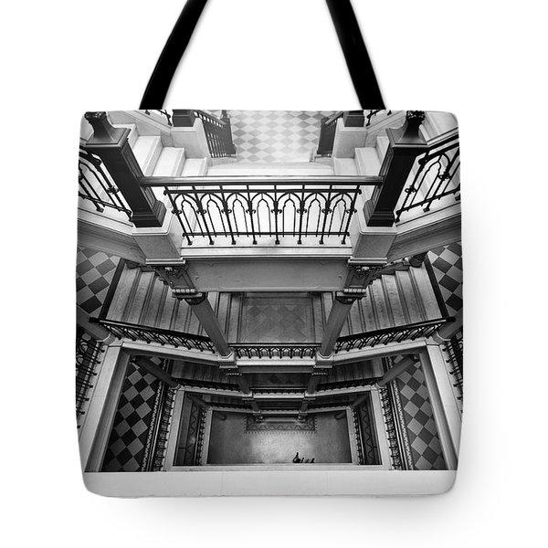 Sao Paulo - Gorgeous Staircases Tote Bag
