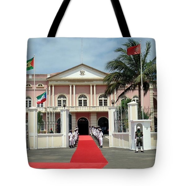 Sao Tome City Hall Tote Bag