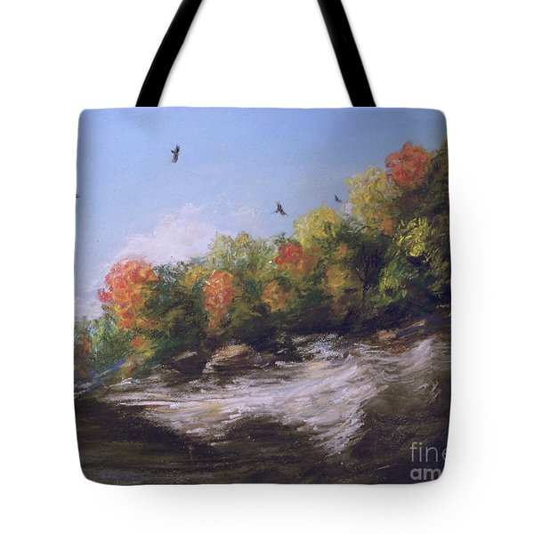 Soaring Over The North Rim, Autumn Tote Bag