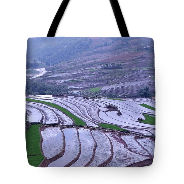 Sapa Rice Paddies Tote Bag