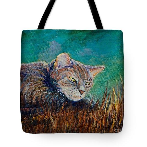 Saphira's Lawn Tote Bag by AnnaJo Vahle