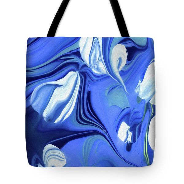 Sapphire Dreams Tote Bag