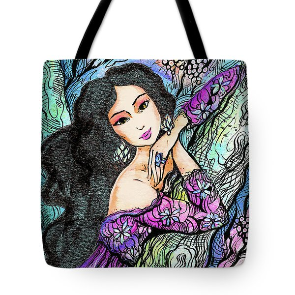 Sapphire Forest Tote Bag