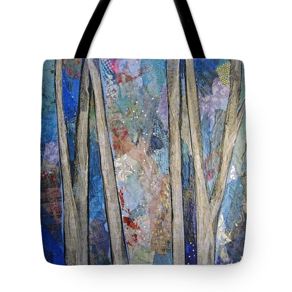 Sapphire Forest I Tote Bag