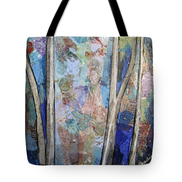 Sapphire Forest II Tote Bag