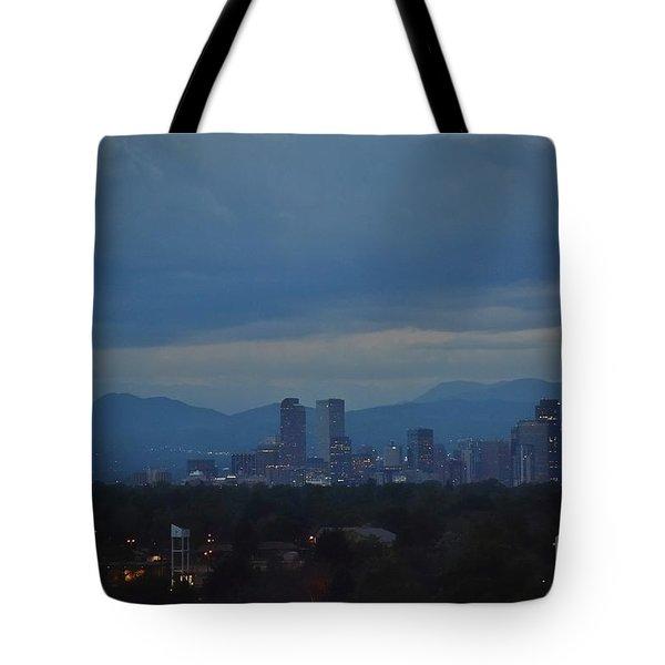 Sapphire Skies Tote Bag