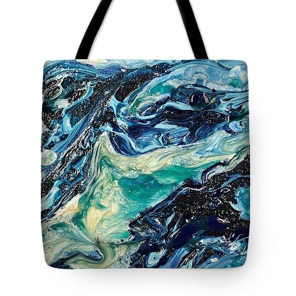 Sapphire Swim Tote Bag