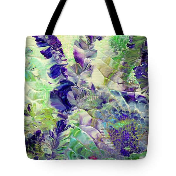 Sapphire Violet Tote Bag