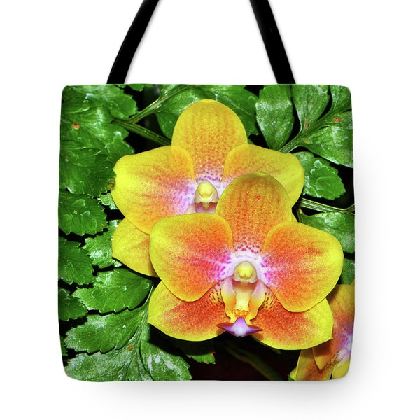 Sara Gold Orchids 003 Tote Bag