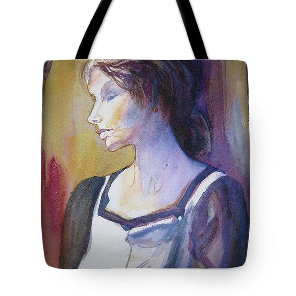 Sarah Sees Tote Bag
