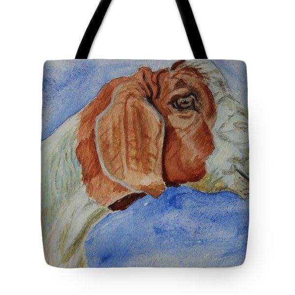 Sara's Goat Tote Bag