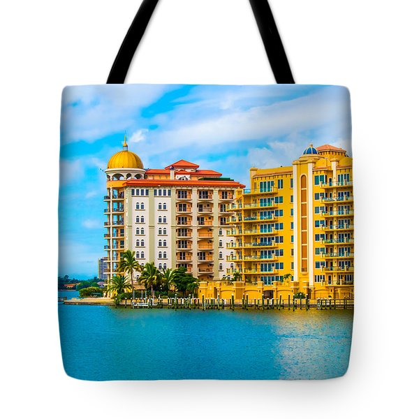 Sarasota Architecture Tote Bag