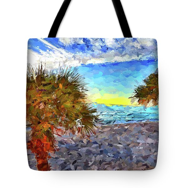 Sarasota Beach Florida Tote Bag
