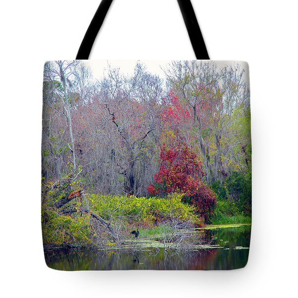 Tote Bag featuring the photograph Sarasota Reflections by Madeline Ellis