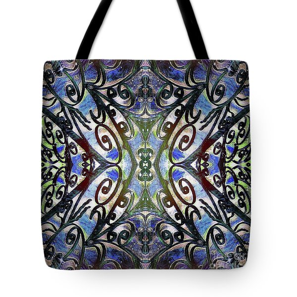 Sarasota Swirls Tote Bag