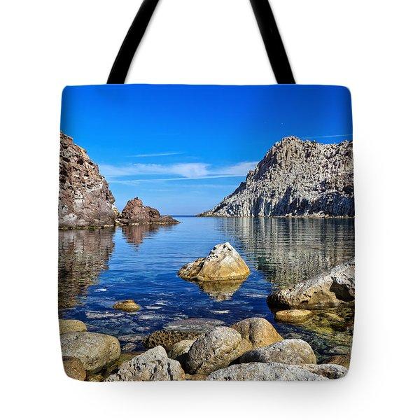 Sardinia - Calafico Bay  Tote Bag by Antonio Scarpi