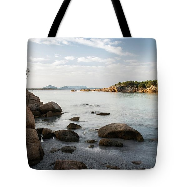 Sardinian Coast Tote Bag by Yuri Santin