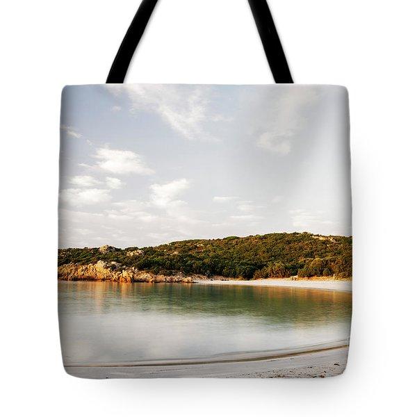 Sardinian View Tote Bag