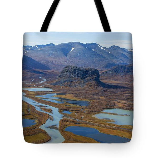 Sarek Nationalpark Tote Bag
