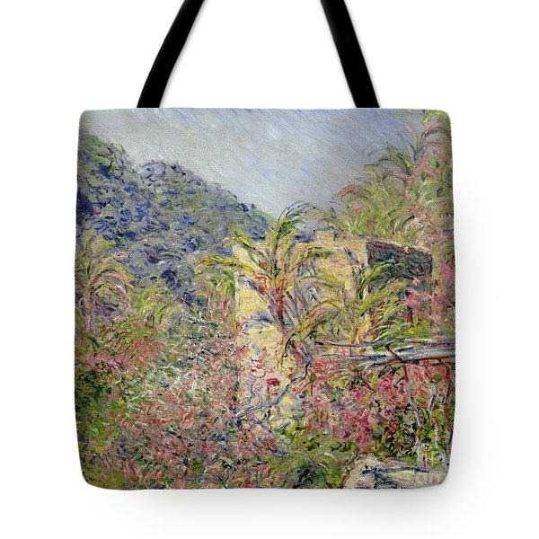 Sasso Valley Tote Bag by Claude Monet