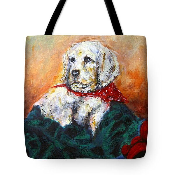 Tote Bag featuring the painting Sassy by Thomas Lupari