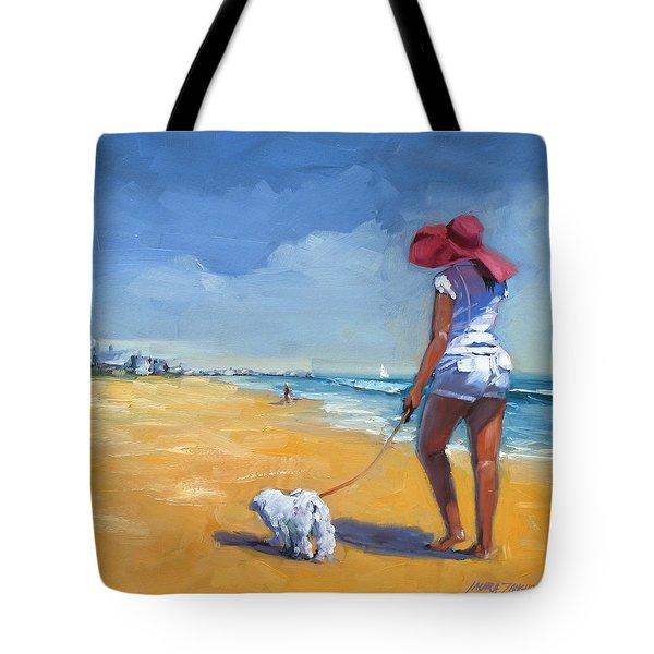 Sassy Three Tote Bag by Laura Lee Zanghetti