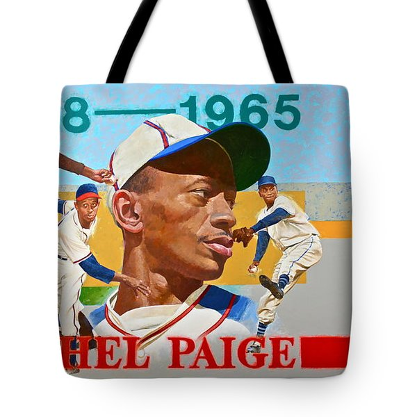 Satchel Paige Tote Bag by Cliff Spohn
