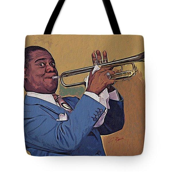 Satchmo Tote Bag