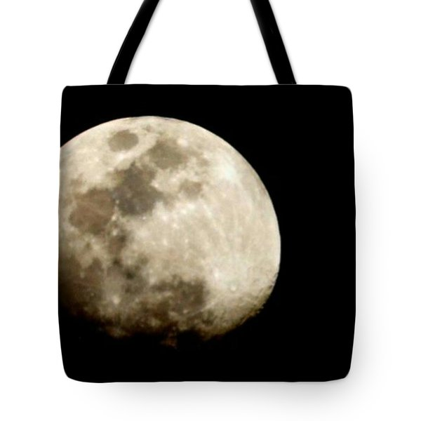 Satellite Serenade  Tote Bag