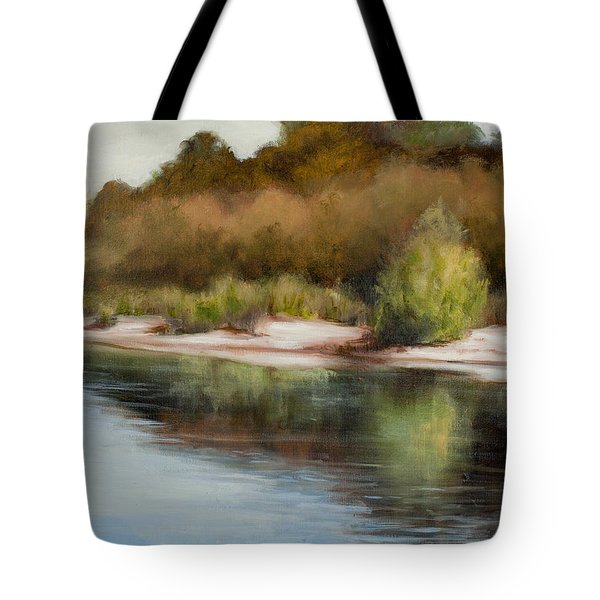 Satilla River Reflections Tote Bag