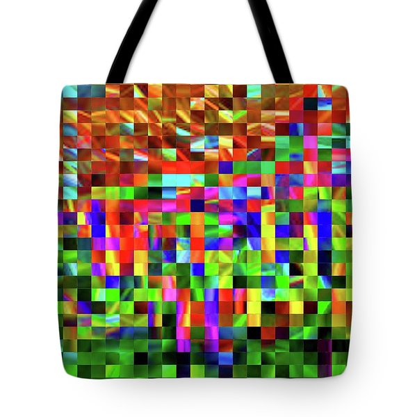 Satin Tiles Tote Bag