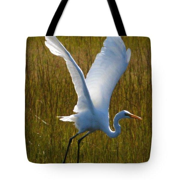 Satin Wings Tote Bag