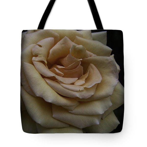Satiny Rose Tote Bag