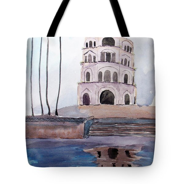 Satkhanda Lucknow Tote Bag