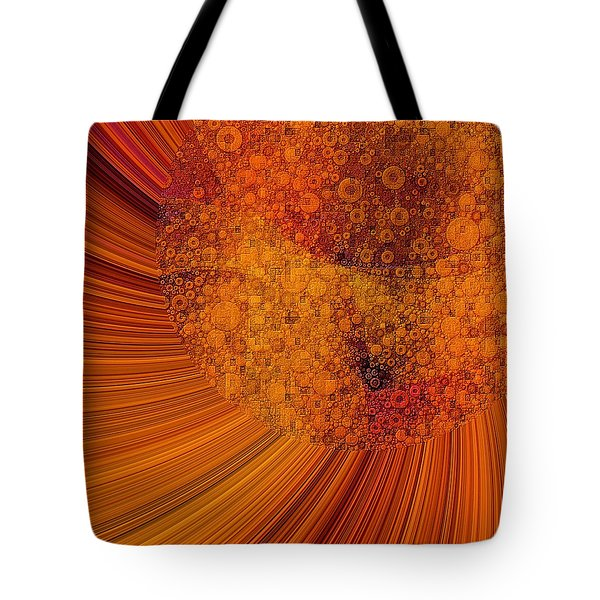 Saturated In Sun Rays Tote Bag