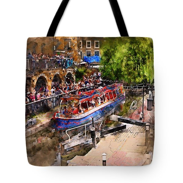 Saturday Afternoon At Camden Lock Tote Bag