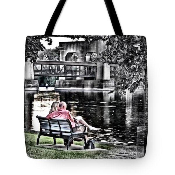 Saturday Afternoon Tote Bag