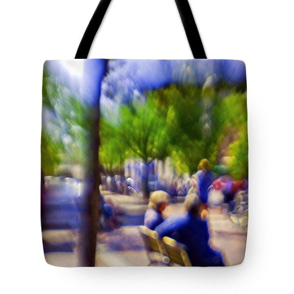 Saturday Afternoon II Tote Bag by Madeline Ellis