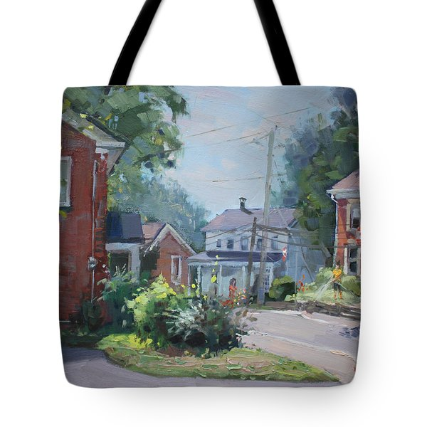 Saturday At Glen Williams On Tote Bag
