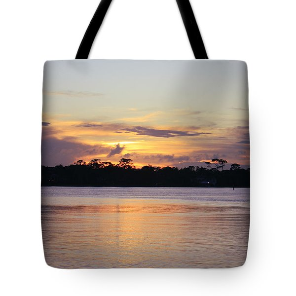 Saturday At Sundown Tote Bag