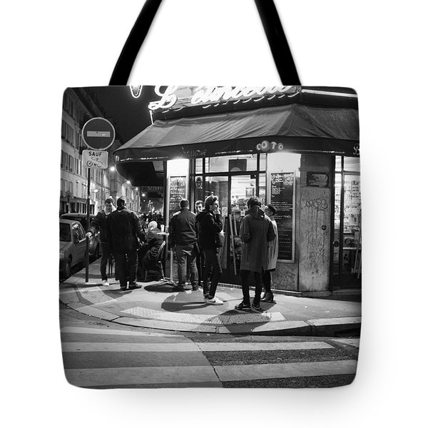 Saturday Evening In Paris Tote Bag