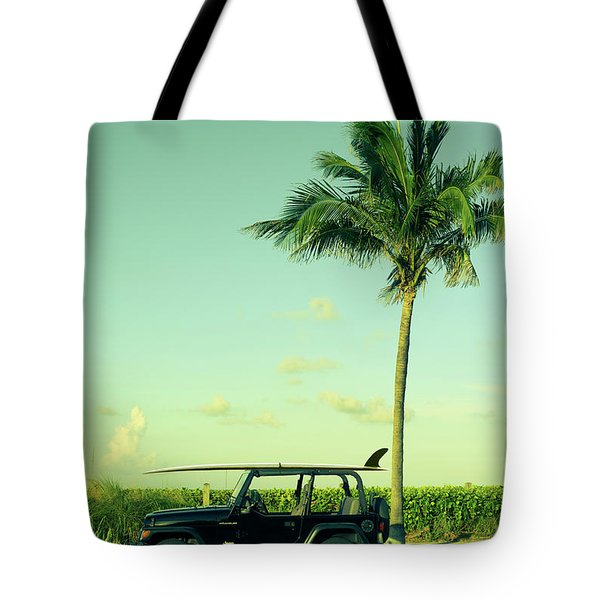 Tote Bag featuring the photograph Saturday by Laura Fasulo